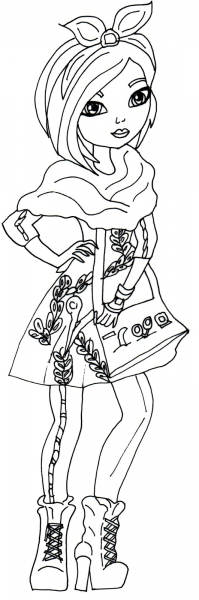 Ever After High Dolls Coloring Pages