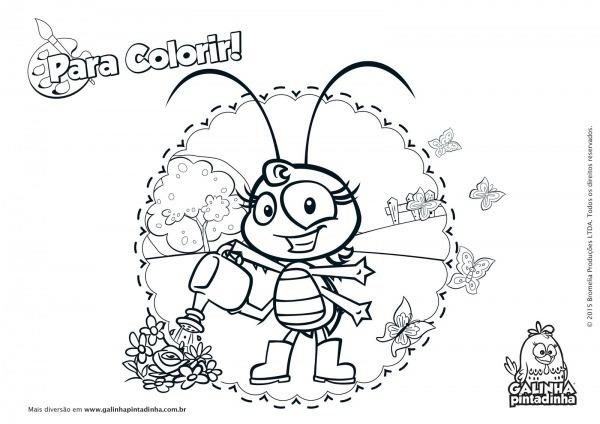 Desenhos Para Colorir E Imprimir Galinha Pintadinha