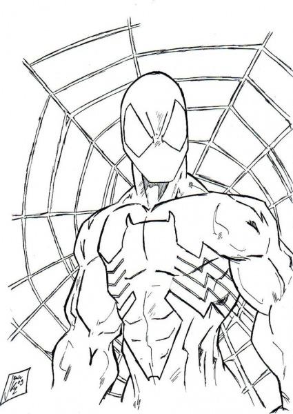 Incrível Desenhos Para Colorir Homem Aranha 4