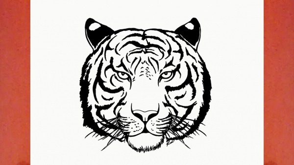 How To Draw A Tiger (animals)