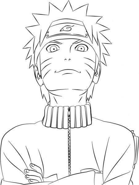 Coloring Pages  Printable Naruto Coloring Pages