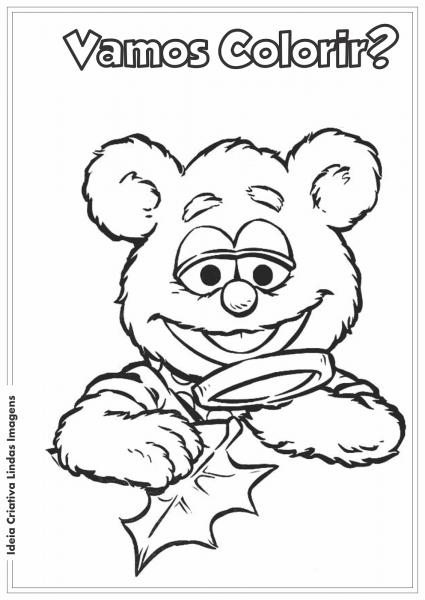 Os Muppets Bebês Desenho Pra Colorir