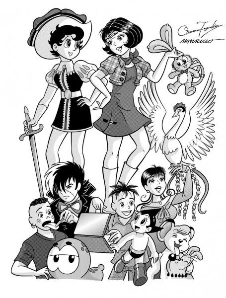 Tmj E Personagens De Ozamu Tezuka Imagem 3!