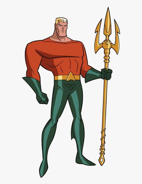 Aquaman Liga Da Justiça Desenho