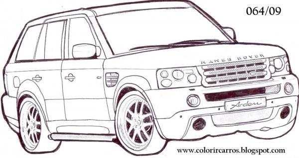 Desenhos De Carros Antigos Para Colorir