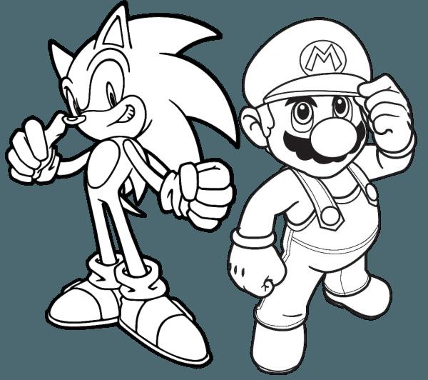 Jogo Pinte Mario E Sonic No Jogos 360