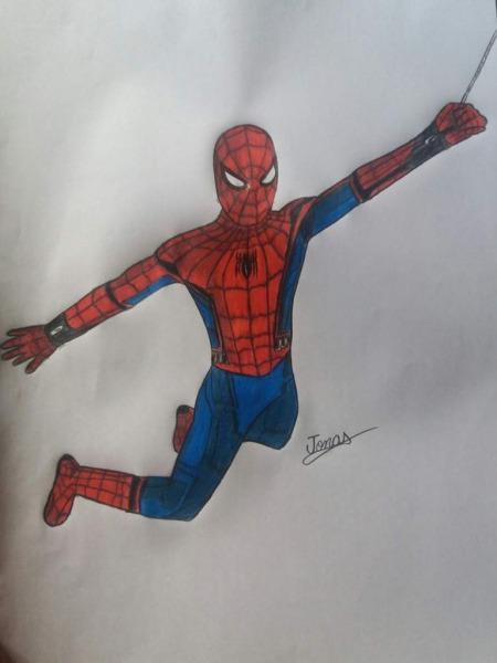Meu Desenho  Homem Aranha De Volta Ao Lar
