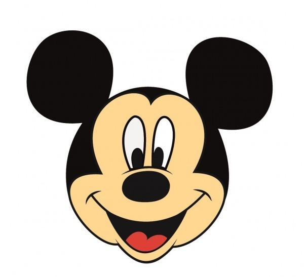 Mickey  Desenho E Pintado No Ilustrator