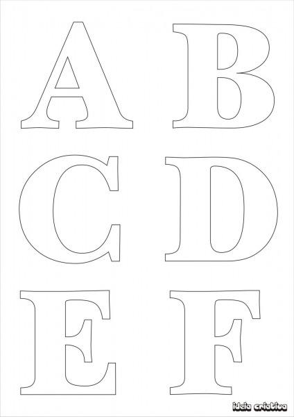 Letras Para Imprimir Mayusculas