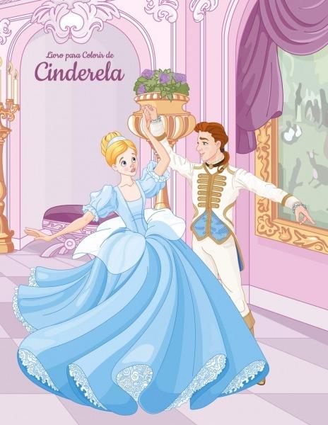 Livro Para Colorir De Cinderela  Snels, Nick  9781698515588  Books