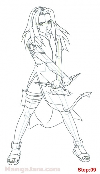 How_draw_sakura