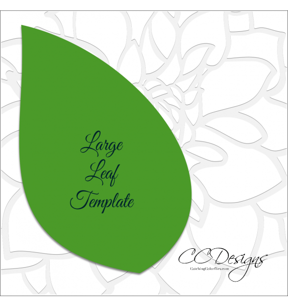 Cora Style Giant Paper Flower Template