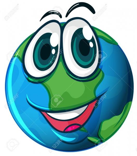 Resultado De Imagem Para Planeta Terra Sorrindo