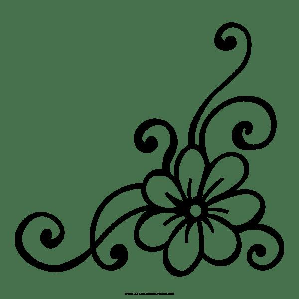 Flor Desenho Para Colorir Ultra Coloring Pages