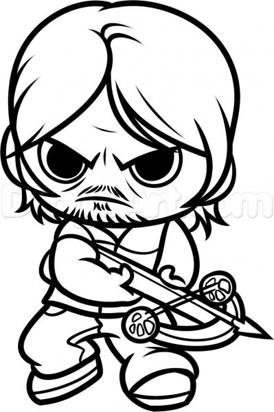 Resultado De Imagem Para Desenhos De The Walking Dead Para Colorir