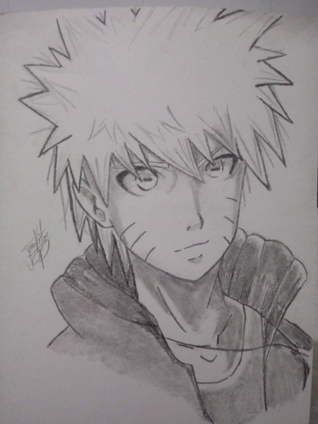 Grafite Do Naruto
