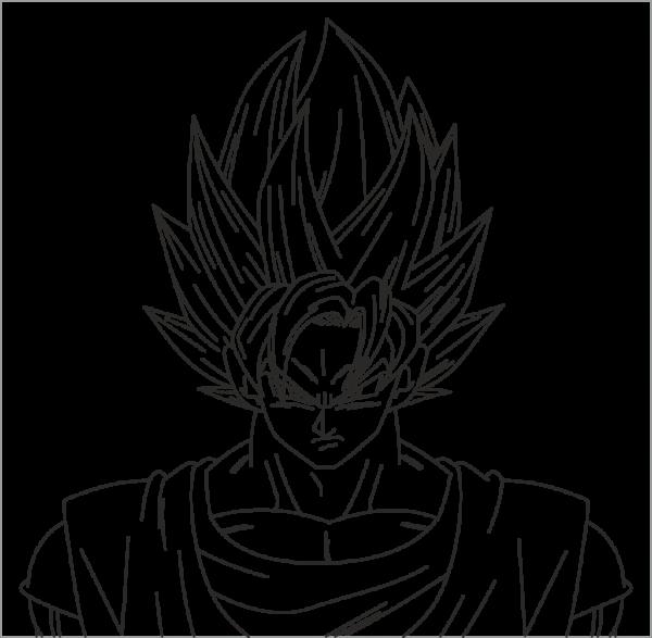 Como Desenhar O Goku  Aprenda Em 3 Passos Simples!
