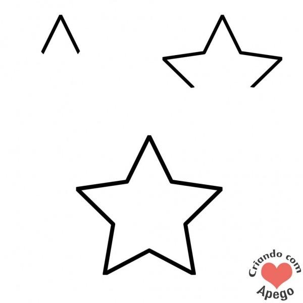 Desenho Para Desenhar Estrela Para Desenhar