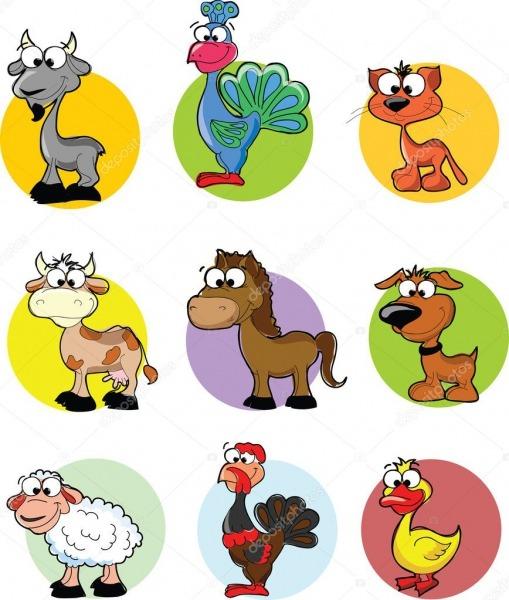 Desenhos De Animais Para Imprimir Coloridos
