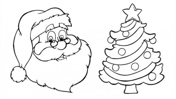 Desenhos De Natal Para Colorir E Coloridos Para Imprimir