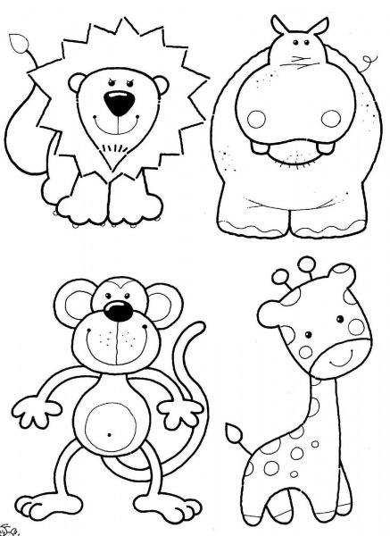 Desenhos De Bichinhos Para Colorir