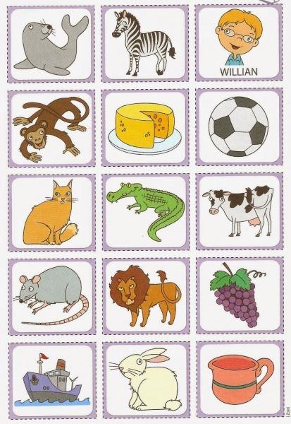 Alfabeto Móvel Ilustrado (jogo De Relacionar Figura à Letra)