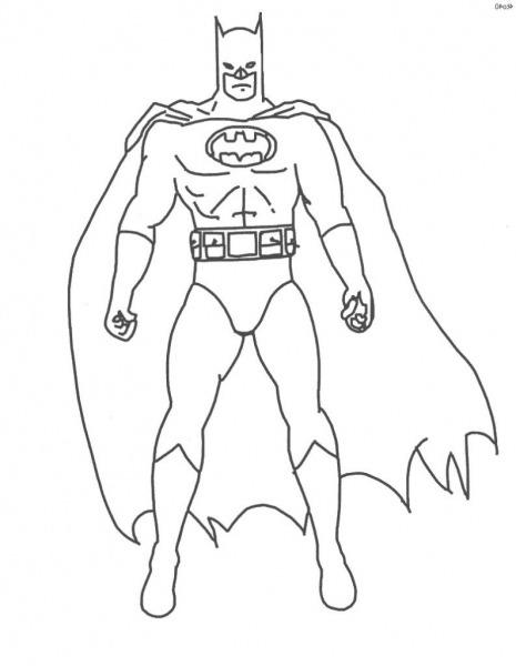 Batman  40 (superhéroes) – Páginas Para Colorear