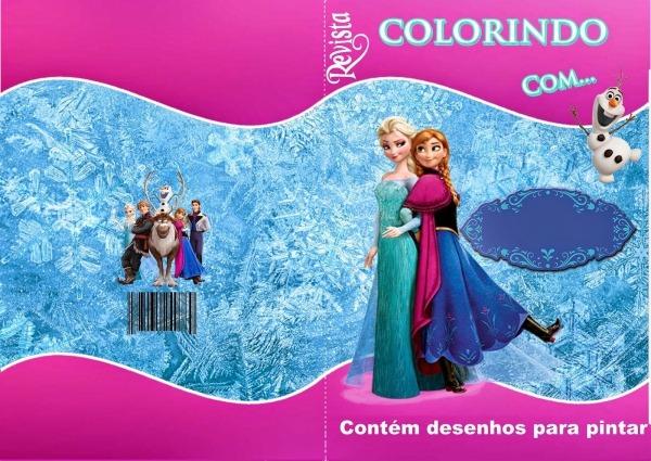 Kit De Personalizados Tema Frozen