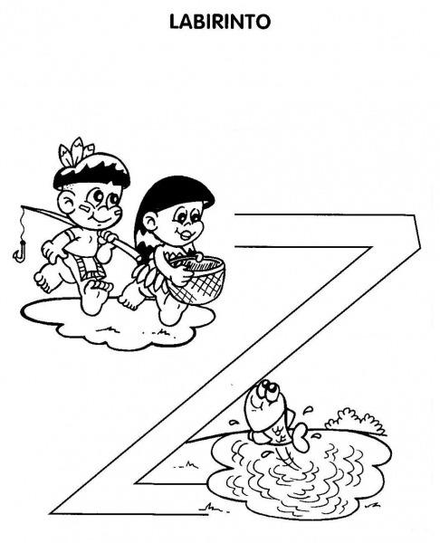 Desenho De Jogo Do Labirinto