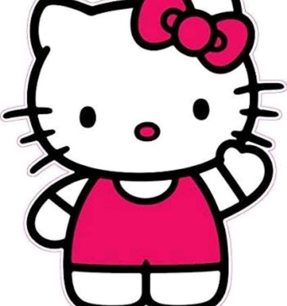 Kit De Colorir Hello Kitty No Elo7