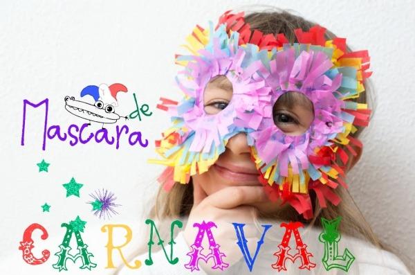 Máscara De Carnaval Emplumada
