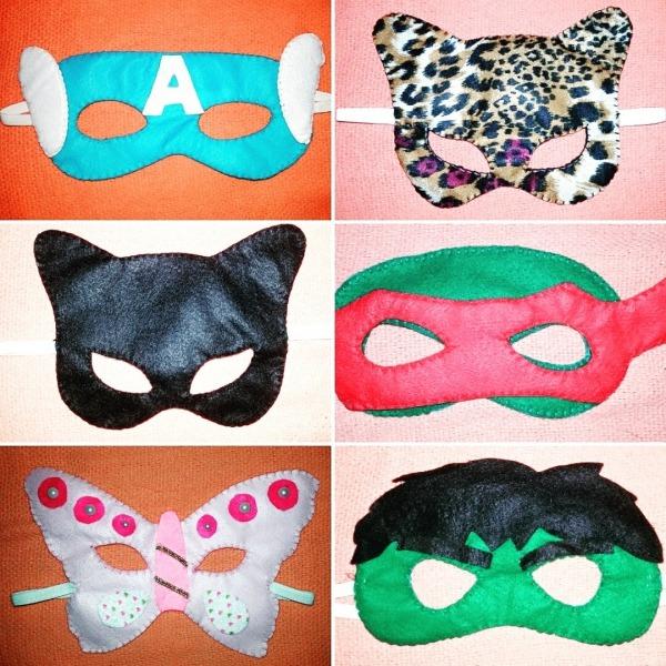 Máscara De Carnaval Infantil No Elo7