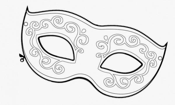 A Arte De Educar  Moldes De Máscaras De Carnaval Para Imprimir