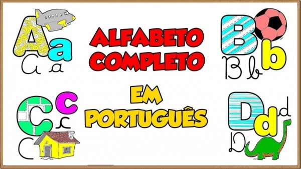Alfabeto Completo Em Português