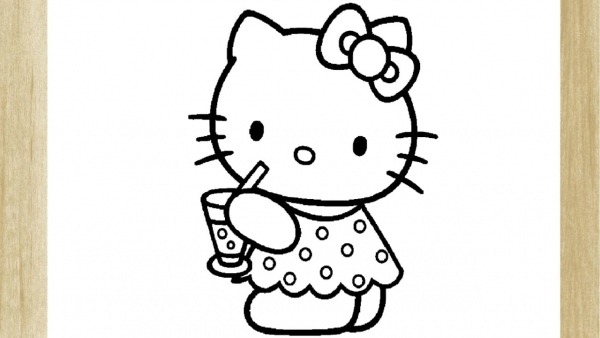 Como Desenhar A Famosa Hello Kitty (fÁcil)     How To Draw Hello