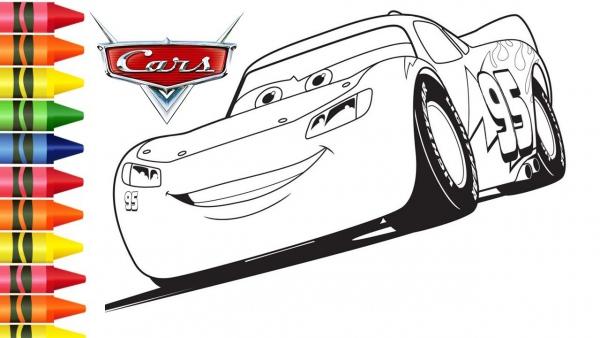 Desenho Do Relampago Mcqueen De Carros 3 Para Colorir Desenhos