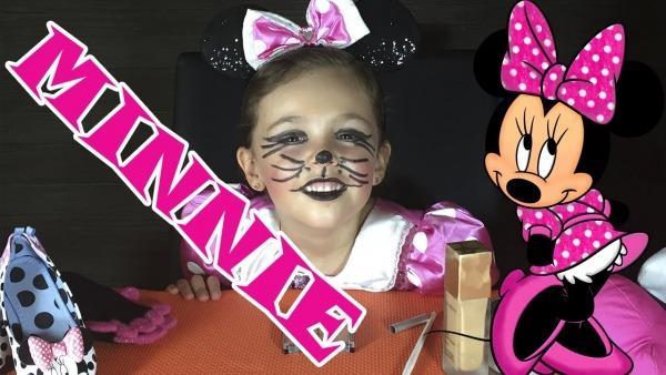 Maquillaje De Minnie Mouse De Disney