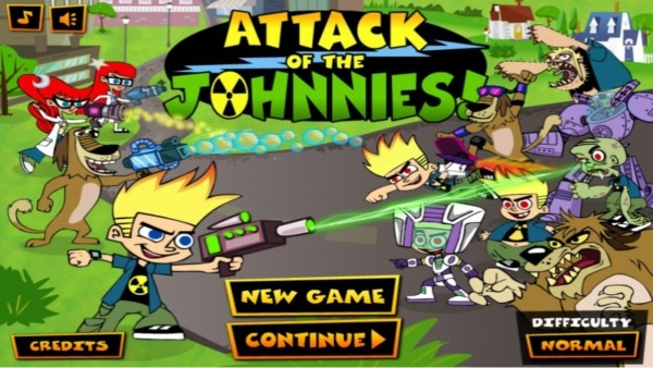 Attack Of The Johnnies ! Johnny Test Games  1