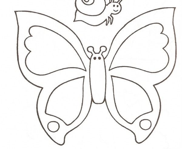Desenhos De Borboletas Para Imprimir