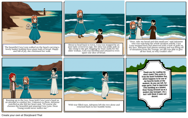 Novel Study Project Storyboard Por Beefix84