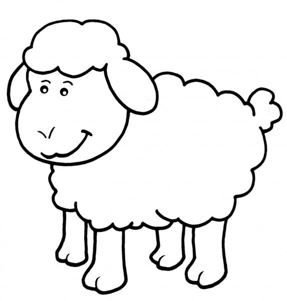 Desenhos De Ovelhas Para Imprimir E Colorir
