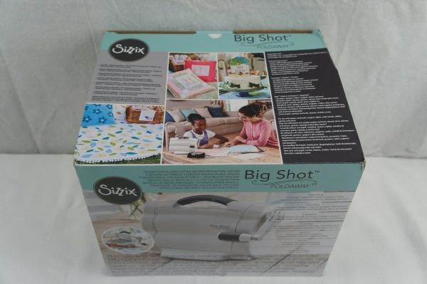Sizzix 662500 Big Shot Foldaway Machine For Sale Online