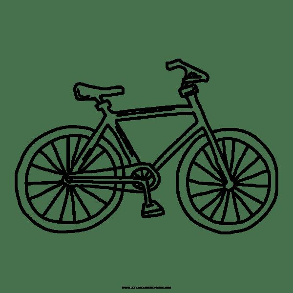 Bicicleta Desenho Para Colorir