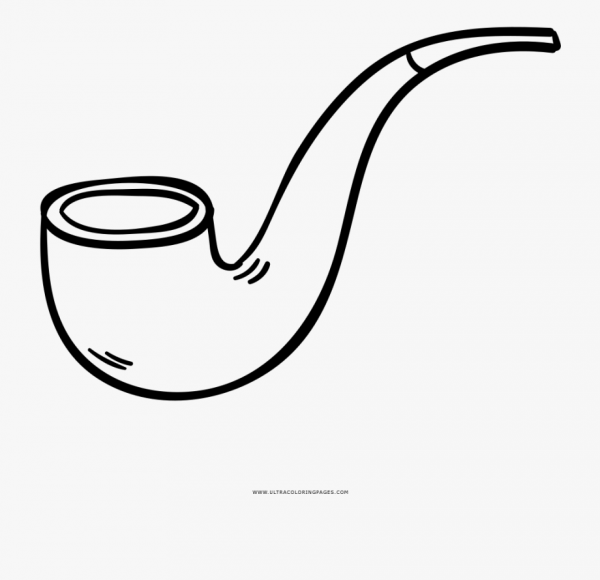 Tobacco Pipe Coloring Page