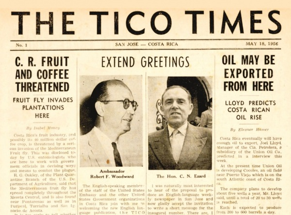 We're Back! – The Tico Times