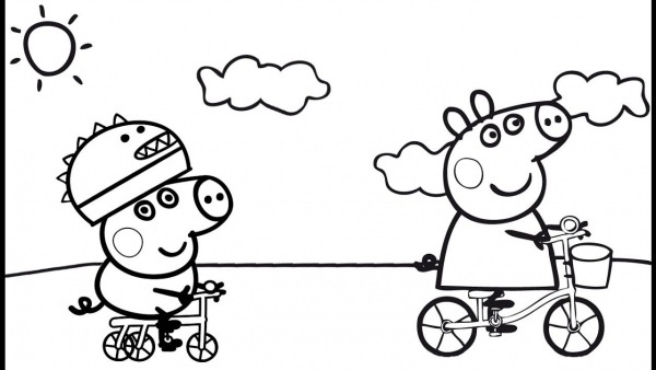 Peppa Pig Coloring Pages  Coloringpagesforpeppapig