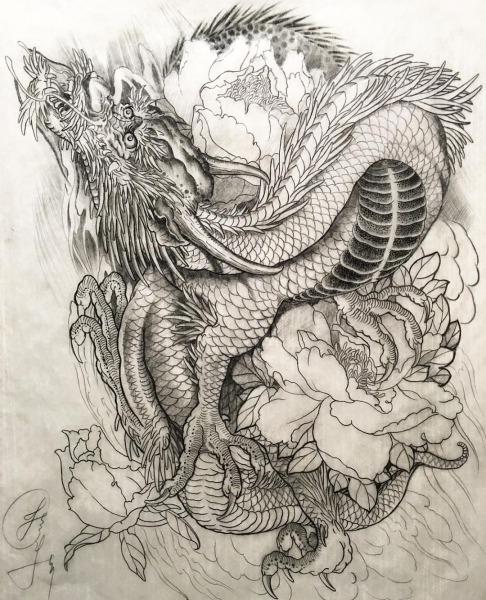 Desenhos De Dragão Facebook  Leandro Carlos Tattoo Instagram