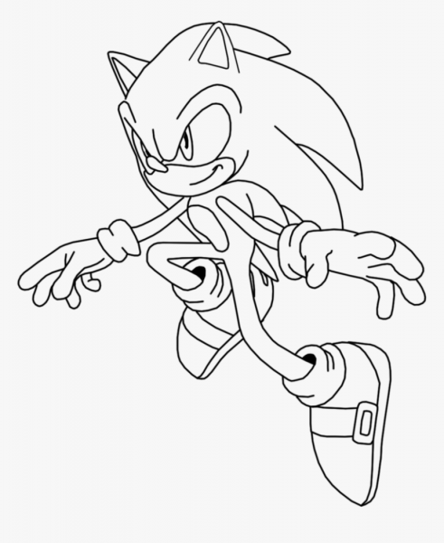 Free Coloring Pages Of Super Sonic Emeralds