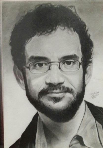 Desenho Realista Renato Russo