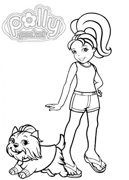 30 Desenhos Da Polly Pocket Para Colorir E Imprimir